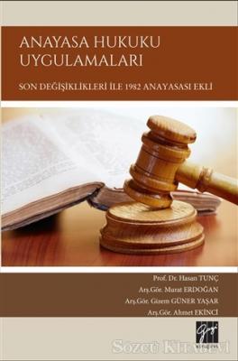 Hasan Tunç - Anayasa Hukuku Uygulamaları | Sözcü Kitabevi
