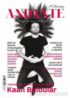 Andante Müzik Dergisi Yıl: 16 Sayı: 153 Temmuz 2019