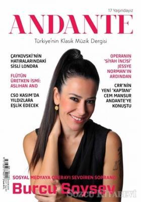 Andante Müzik Dergisi Yıl: 17 Sayı: 157 Kasım 2019
