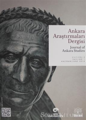 Ankara Araştırmaları Dergisi Cilt : 2 Sayı : 1 / Journal of Ankara Studies