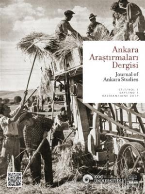 Ankara Araştırmaları Dergisi Cilt : 5 Sayı : 1 / Journal of Ankara Studies