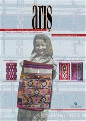 Arış Dergisi Sayı: 8 Kasım 2012