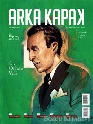 Arka Kapak Dergisi Sayı : 36 Eylül 2018