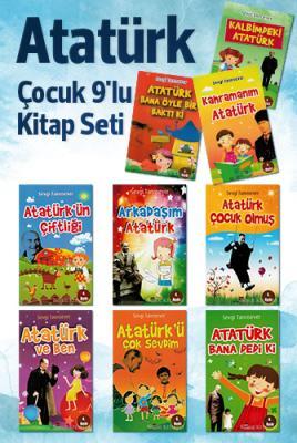 Atatürk - Çocuk 9'lu Kitap Seti