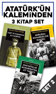 Mustafa Kemal Atatürk - Atatürk'ün Kaleminden 3 Kitap Set2   Sözcü Kitabevi