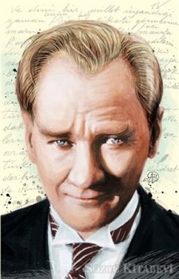Atatürk 1 - Yumuşak Kapak Defter