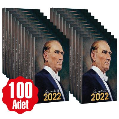 - 100 Adet - 2022 Atatürk Ajandası - Gazi | Sözcü Kitabevi