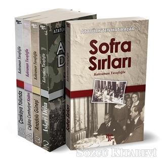 Atatürk'ten Hatıralar - 5 Kitap Set