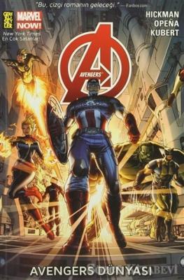 Jonathan Hickman - Avengers 1 - Avengers Dünyası | Sözcü Kitabevi
