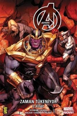 Jonathan Hickman - Avengers: Zaman Tükeniyor 3. Kitap   Sözcü Kitabevi