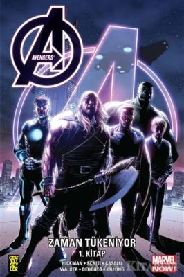 Jonathan Hickman - Avengers: Zaman Tükeniyor 1. Kitap | Sözcü Kitabevi
