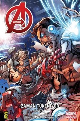 Jonathan Hickman - Avengers: Zaman Tükeniyor 4. Kitap   Sözcü Kitabevi
