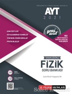 AYT 2021 Tamamı Çözümlü Fizik Soru Bankası