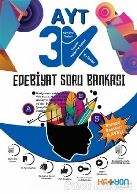 Kolektif - AYT 3K Edebiyat Soru Bankası   Sözcü Kitabevi