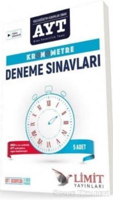 Kolektif - AYT Kronometre Deneme Sınavları | Sözcü Kitabevi