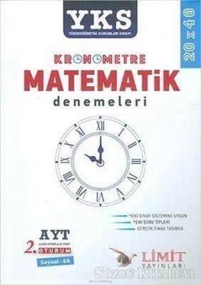 AYT Kronometre Matematik Denemeleri