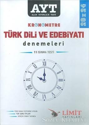 AYT Kronometre Türk Dili ve Edebiyatı Denemeleri