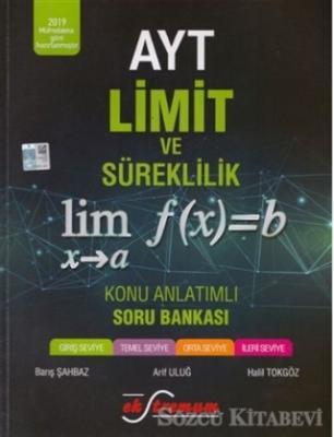AYT Limit ve Süreklilik Konu Anlatımlı Soru Bankası
