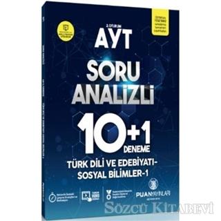 Kolektif - AYT Türk Dili ve Edebiyatı-Sosyal Bilimler 1 Soru Analizli 10 Artı 1 Deneme   Sözcü Kitabevi