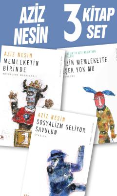 Aziz Nesin 3 Kitap Set