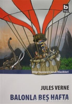 Jules Verne - Balonla Beş Hafta   Sözcü Kitabevi