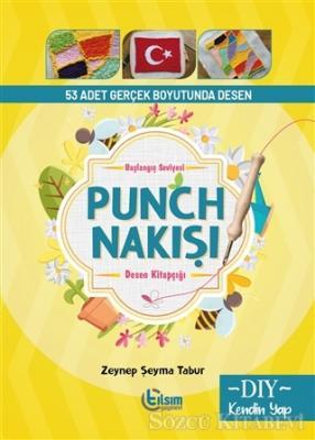 Başlangıç Seviyesi Punch Nakışı Desen Kitapçığı