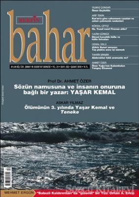 Berfin Bahar Aylık Kültür Sanat ve Edebiyat Dergisi Sayı: 252 Şubat 2019