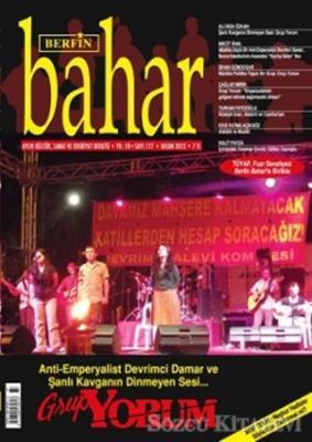 Berfin Bahar Aylık Kültür, Sanat ve Edebiyat Dergisi Sayı : 177