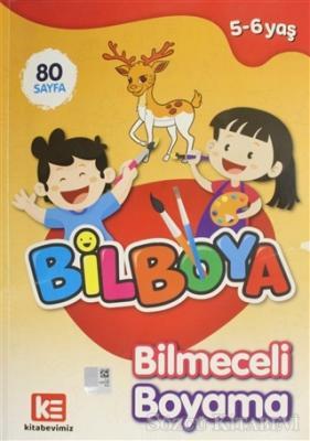 Kolektif - Bilboya - Bilmeceli Boyama Kitabı | Sözcü Kitabevi