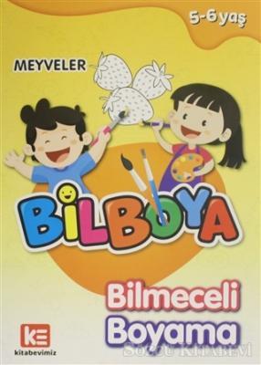 Kolektif - Bilboya Bilmeceli Boyama - Meyveler   Sözcü Kitabevi