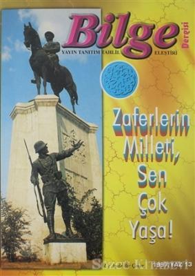 Bilge Dergisi 1997 / Yaz 13