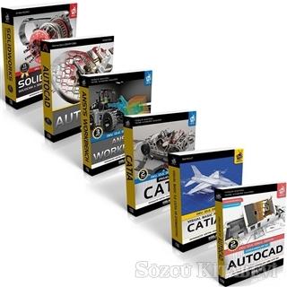 Bilgisayar Destekli Tasarım ve İmalat Seti 2 (6 Kitap Takım)