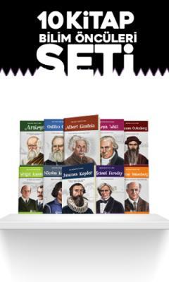 Bilimin Öncüleri 10 Kitap Set