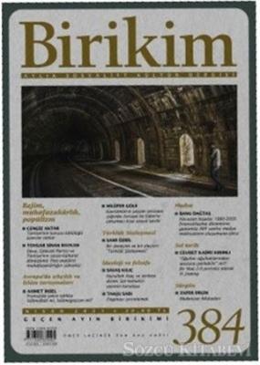 Birikim Aylık Edebiyat Kültür Dergisi Sayı: 384 Nisan 2021