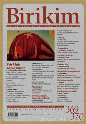 Kolektif - Birikim Aylık Sosyalist Kültür Dergisi Sayı: 369-370 Ocak-Şubat 2020 | Sözcü Kitabevi