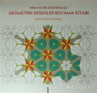 Birim Hücre Gösterimi ile Geometrik Desenler Boyama Kitabı