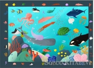 Blop Blop Puzzle - Ocean Search and Find Puzzle