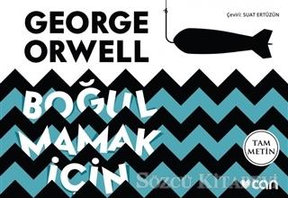 George Orwell - Boğulmamak İçin (Mini Kitap)   Sözcü Kitabevi