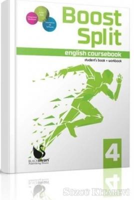 Kolektif - Boost Split English Coursebook 4 | Sözcü Kitabevi