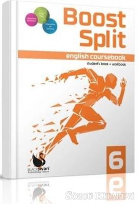 Kolektif - Boost Split English Coursebook 6   Sözcü Kitabevi