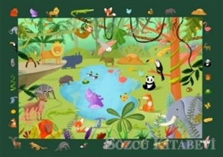 Buzz Puzzle - Jungle Search and Find Puzzle