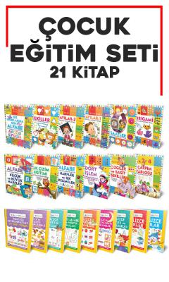 Çocuk Eğitim Seti 21 Kitap