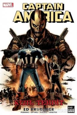Ed Brubaker - Captain America - Kızıl Tehdit   Sözcü Kitabevi