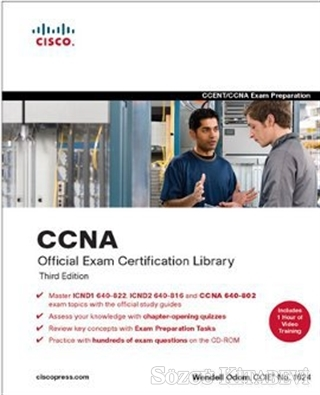 Wendell Odom - CCNA Official Exam Certification Library (CCNA Exam 640-802) | Sözcü Kitabevi