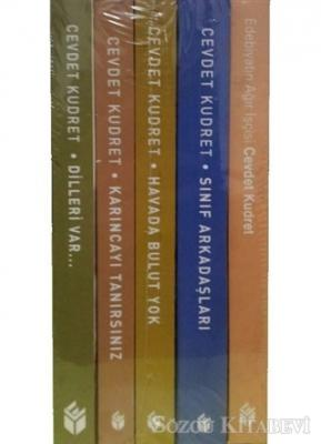 Cevdet Kudret Edebiyat Seti (5 Kitap Takım)