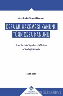 Ceza Muhakemesi Kanunu - Türk Ceza Kanunu