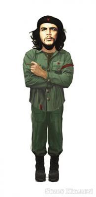Che Guevara - Lazer Kesim Ayraç