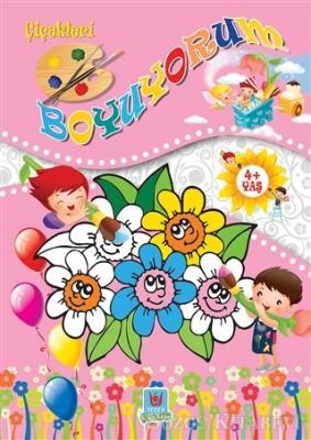 Kolektif - Çiçekleri Boyuyorum   Sözcü Kitabevi