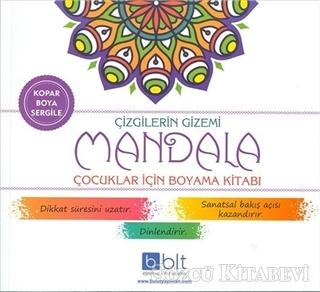 Kolektif Cizgilerin Gizemi Mandala Cocuklar Icin Boyama Kitabi