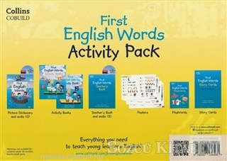 Cobuild First English Words Activity Pack